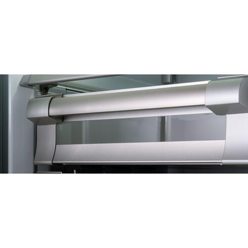 "Bertazzoni - 36"" Built-in Refrigerator Column Stainless Steel Stainless Steel"