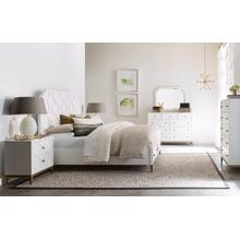 Chelsea by Rachael Ray Panel Bed w/ Storage Footboard, Queen 5/0