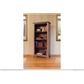 See Details - Bookcase, 12 different positions available for shelves (includes 2 removable shelves, (1 middle fixed shelf+2)