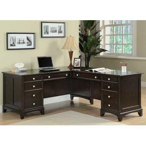 Garson Transitional Desk Return