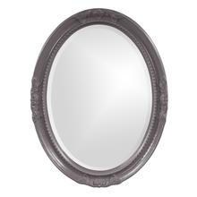 View Product - Queen Ann Mirror - Glossy Charcoal