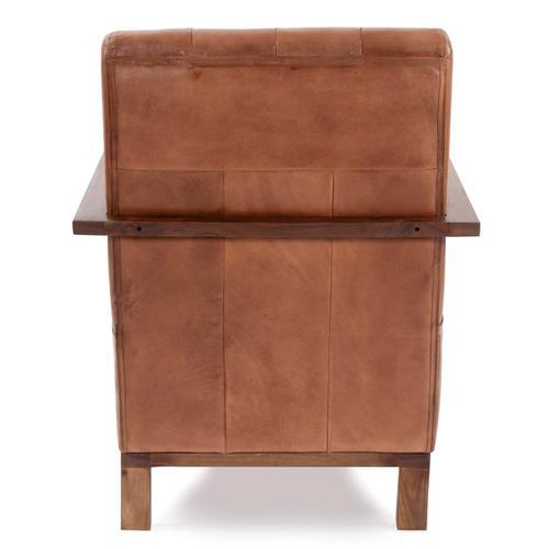 Howard Elliott - Davenport Tufted Leather Chair