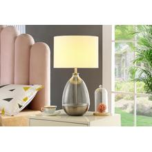 See Details - Ariana Table Lamp, Silver