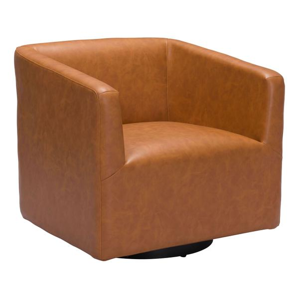 See Details - Brooks Accent Chair Brown