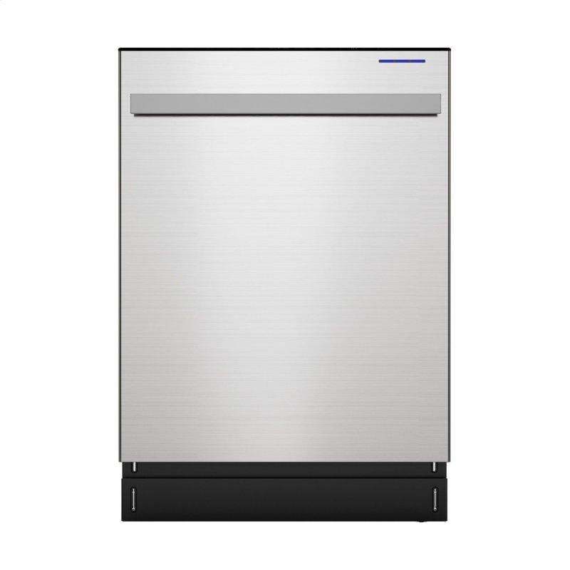 Sharp 24 in. Slide-In Stainless Steel Dishwasher