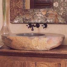 See Details - Large Natural Vessel Sink