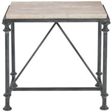 Galesbury Metal End Table