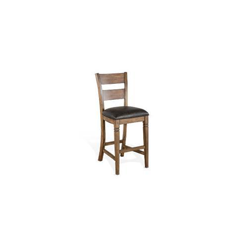 "30""H Ladderback Barstool"