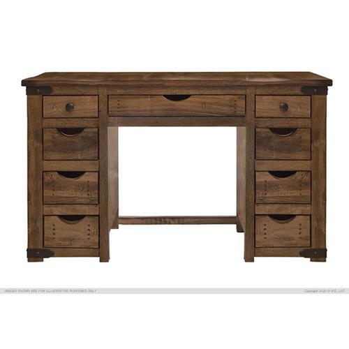 International Furniture Direct - Vanity Dresser w/ 9 Drawers