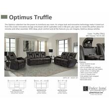 OPTIMUS - TRUFFLE Power Reclining Collection