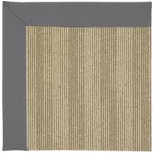 "Creative Concepts-Sisal Canvas Charcoal - Rectangle - 24"" x 36"""