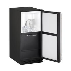 "15"" Clear Ice Machine With Stainless Solid Finish, No (115 V/60 Hz Volts /60 Hz Hz)"