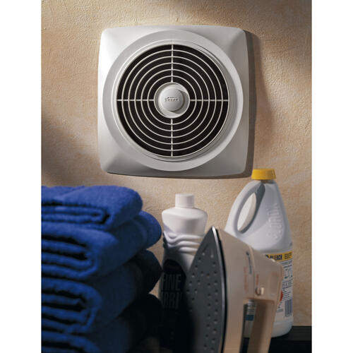 Broan - Broan® 430 CFM Chain-Operated, Through-Wall Ventilation Fan