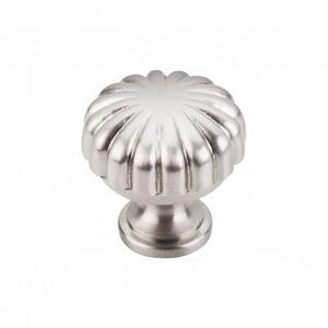 Melon Knob 1 1/4 Inch - Brushed Satin Nickel Product Image