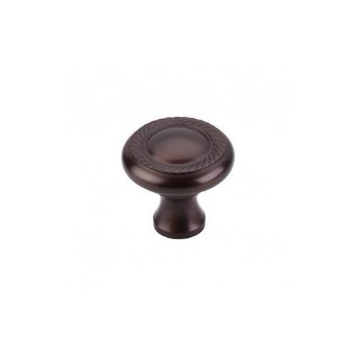Top Knobs - Swirl Cut Knob 1 1/4 Inch - Oil Rubbed Bronze