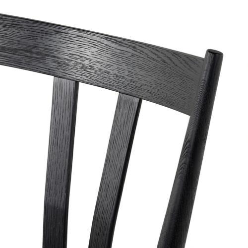 Gregory Dining Chair-black Oak