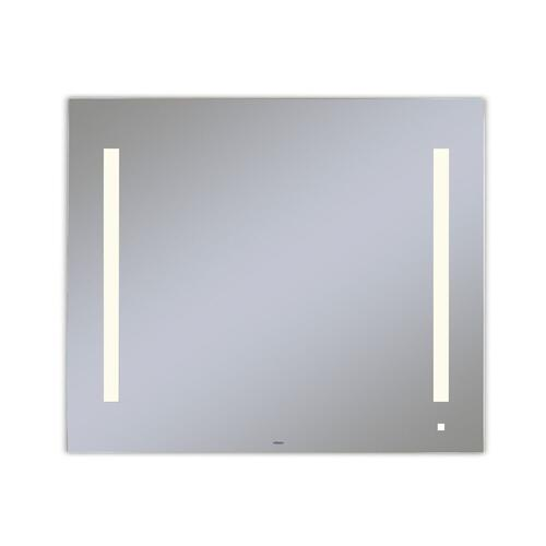 """Aio 35-1/8"""" X 29-7/8"""" X 1-1/2"""" Lighted Mirror With Lum Lighting At 2700 Kelvin Temperature (warm Light), Dimmable and Usb Charging Ports"""