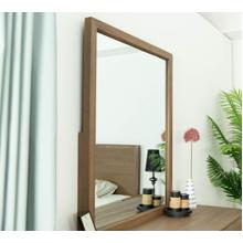 Modrest Claire - Contemporary Natural Light Mocha Acacia Mirror