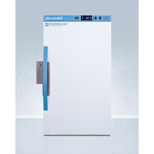 Performance Series Pharma-vac 3 CU.FT. Counter Height All-refrigerator for Vaccine Storage With Hospital Grade Cord With 'green Dot' Plug and Antimicrobial Silver-ion Handle