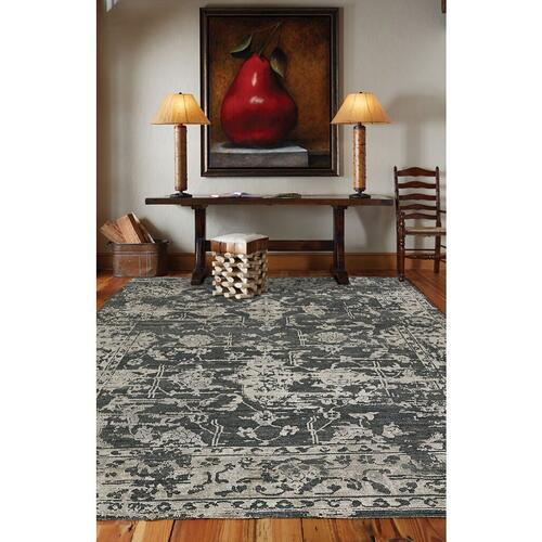 "Makrana Charcoal - Rectangle - 3'6"" x 5'6"""