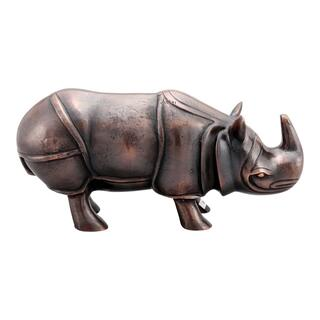 Rhino Table Top Decor Antique Bronze