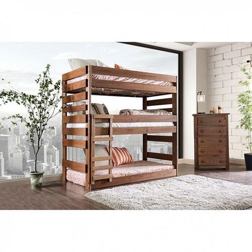 Furniture of America - Pollyanna Twin Triple Decker Bed