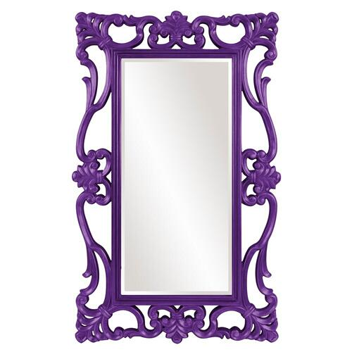 Howard Elliott - Whittington Mirror - Glossy Royal Purple