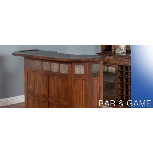 """60"""" Santa Fe Bar w/ Slate"""