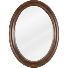 """See Details - 23-3/4"""" W x 1"""" D x 31-1/2"""" H Nutmeg Clairemont mirror"""