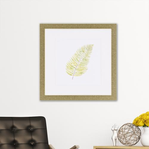 Watercolor Leaf Study IV