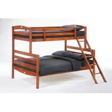 View Product - Sesame Twin Full Bunk in Cherry Finish