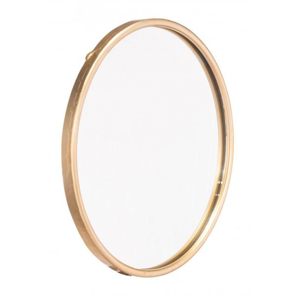 Large Ogee Mirror Gold