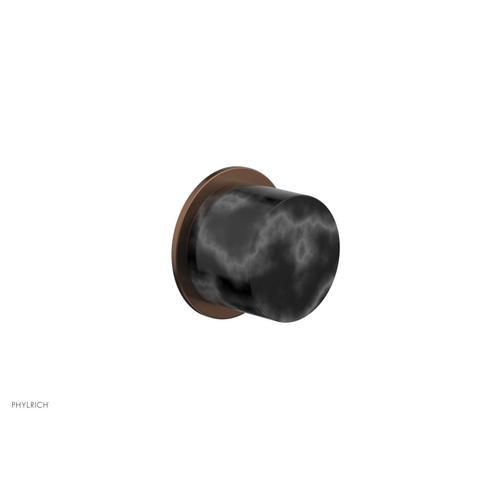 BASIC II Cabinet Knob - Marble 230-92 - Antique Copper