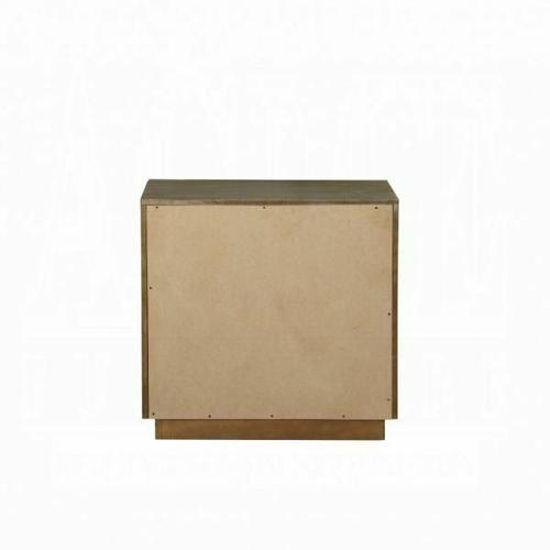 ACME Orianne Nightstand - 23793 - Antique Gold