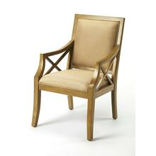 Infuse contemporary style in the living room, bedroom, office or entryway with this sophisticated accent chair. Expertly crafted from birch hardwood solids with sturdy hardwood corner block construction, it features a finely tailored seat and rectangular