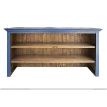 Hutch for Console, Blue finish