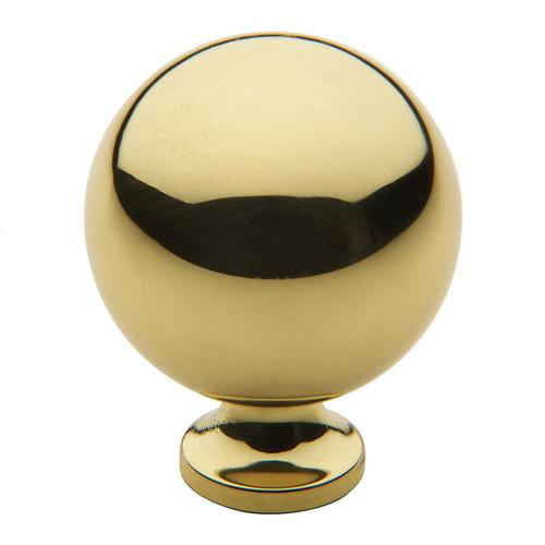Polished Brass Spherical Knob