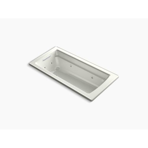 """Dune 66"""" X 32"""" Drop-in Whirlpool Bath With Bask Heated Surface"""