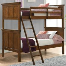 See Details - San Mateo Youth Twin over Twin Bunk Bed  Tuscan