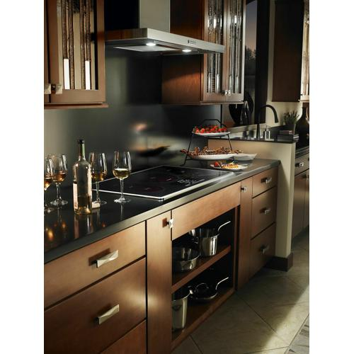 KitchenAid - 36-Inch 5-Element Induction Cooktop, Architect® Series II - Stainless Steel
