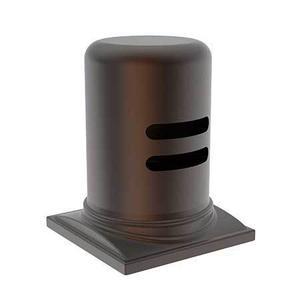 English Bronze Air Gap Cap & Escutcheon Only