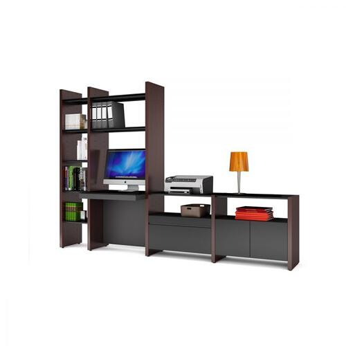 BDI Furniture - Semblance Systems ® 5464-DK in Natural Walnut Black