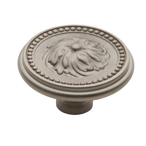 Baldwin - Satin Nickel Ornamental Knob
