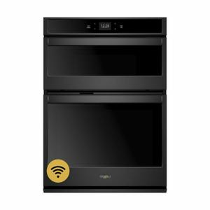 Whirlpool5.7 Cu. Ft. Smart Combination Wall Oven with Touchscreen Black
