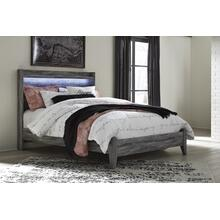 Baystorm - Gray 2 Piece Bed (Queen)