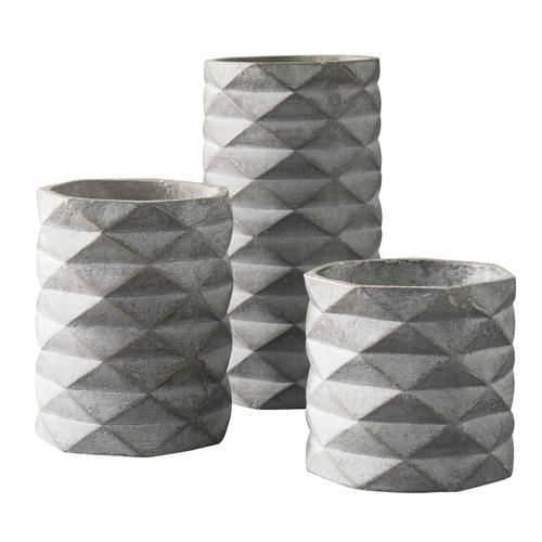 Vase Set Gray