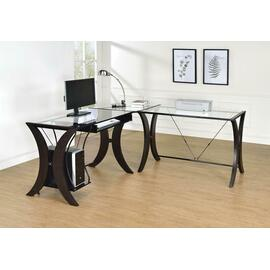 See Details - Contemporary Cappuccino Desk Set