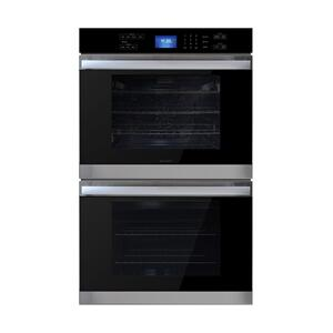 Stainless Steel European Convection Built-In Double Wall Oven Product Image