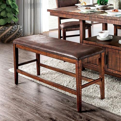 Furniture of America - Wichita Counter Ht. Bench