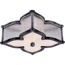 Alexa Hampton Lana 2 Light 15 inch Gun Metal Flush Mount Ceiling Light